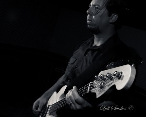 Bass Player in Studio copy